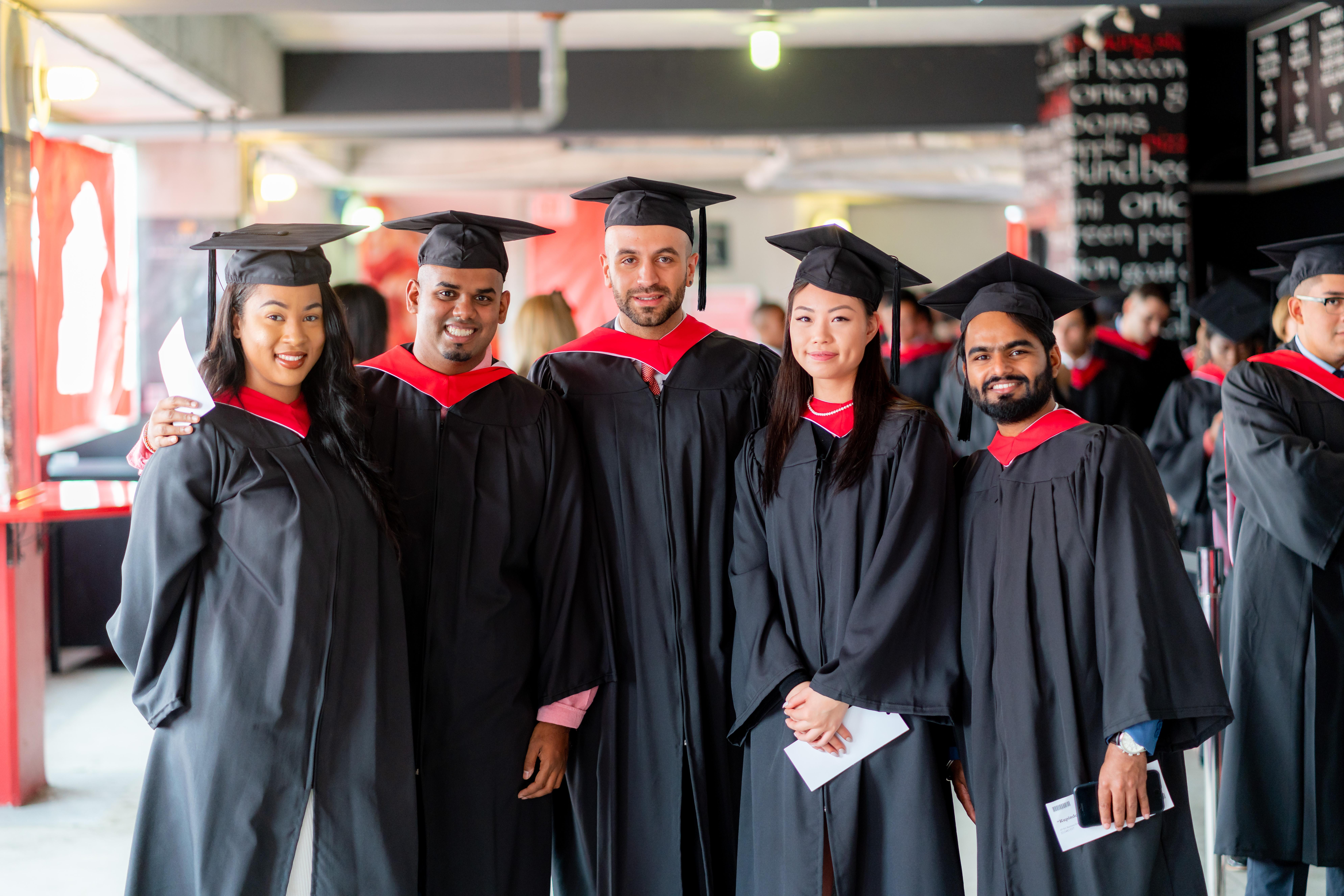 A group of York graduates