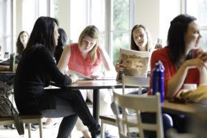 York University students at Glendon College